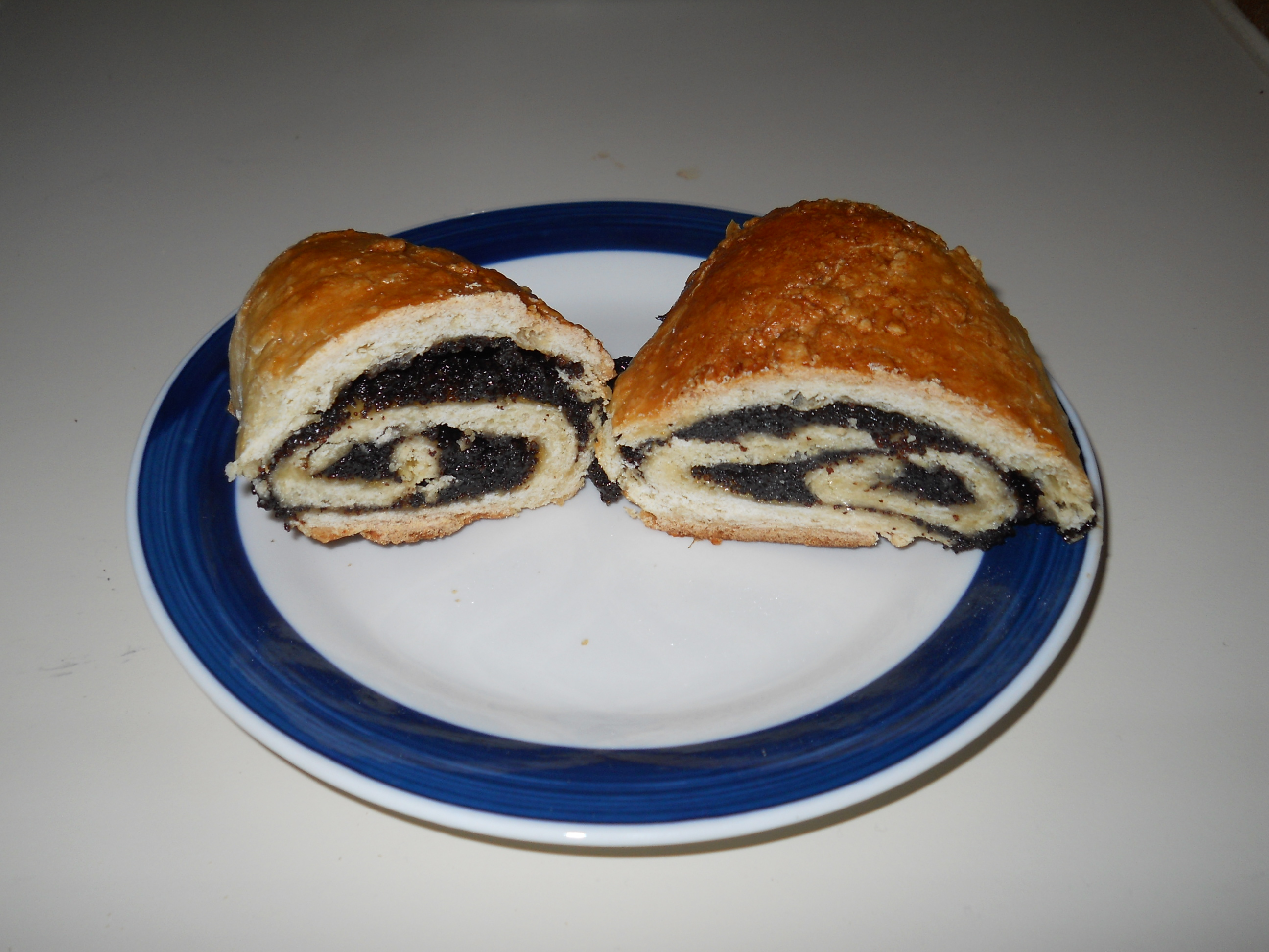 Final Product: The Poppy Seed Kolache!