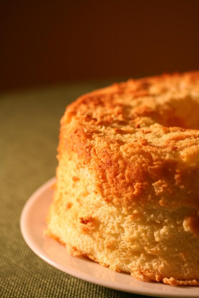 Orange Chiffon Cake With Chocolate Ganache