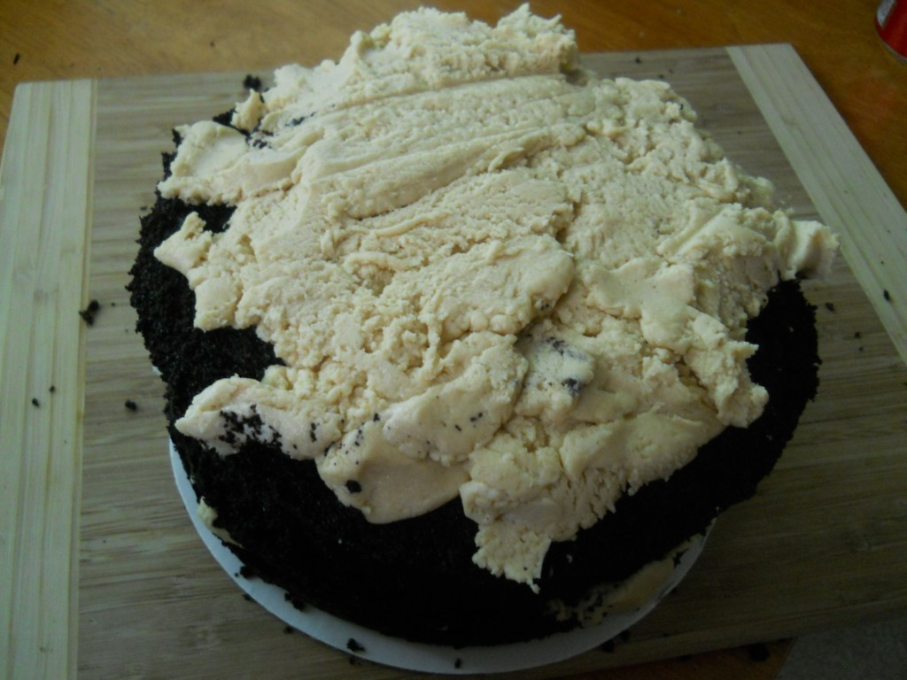 Chocolate Peanut Butter Ugly Cake -spatialdrift