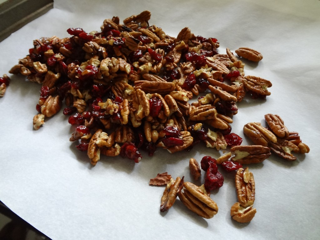 hot squeeze toasted pecans