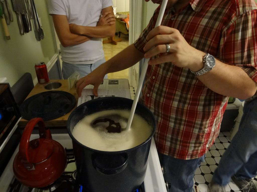 making pale ale
