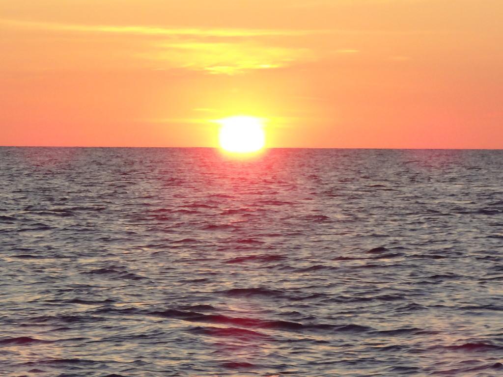 sunset 2 no green flash