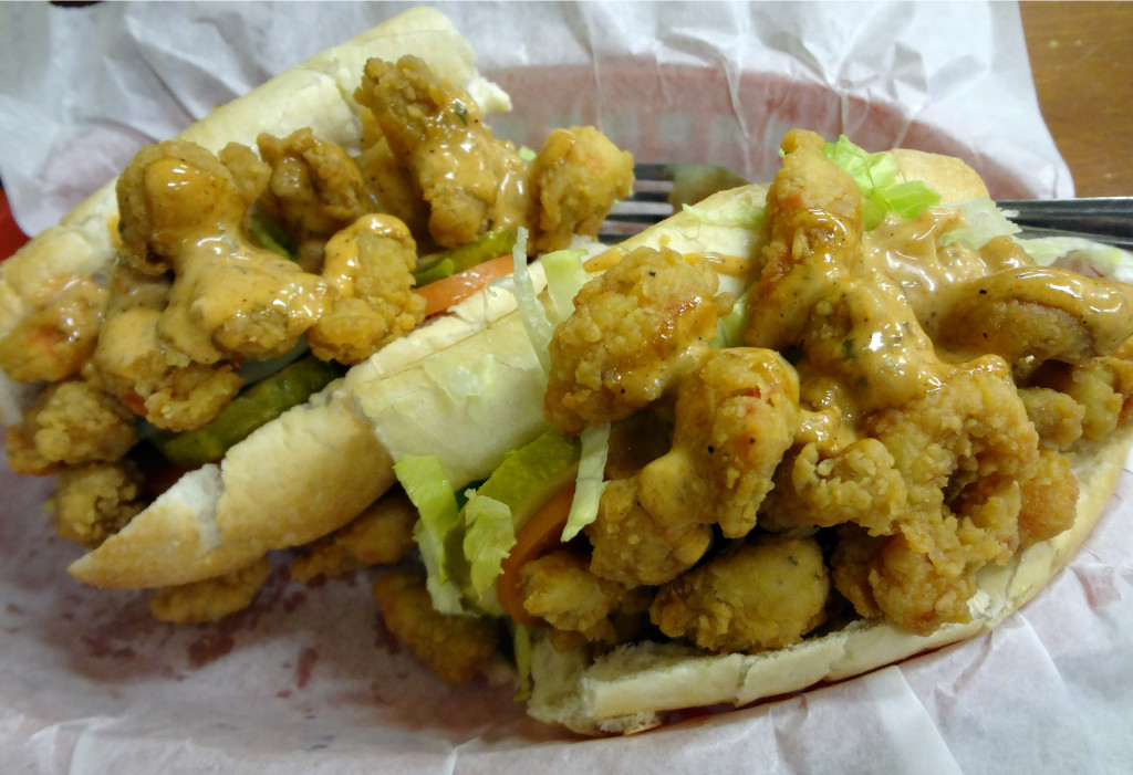 Crawfish Po-boy