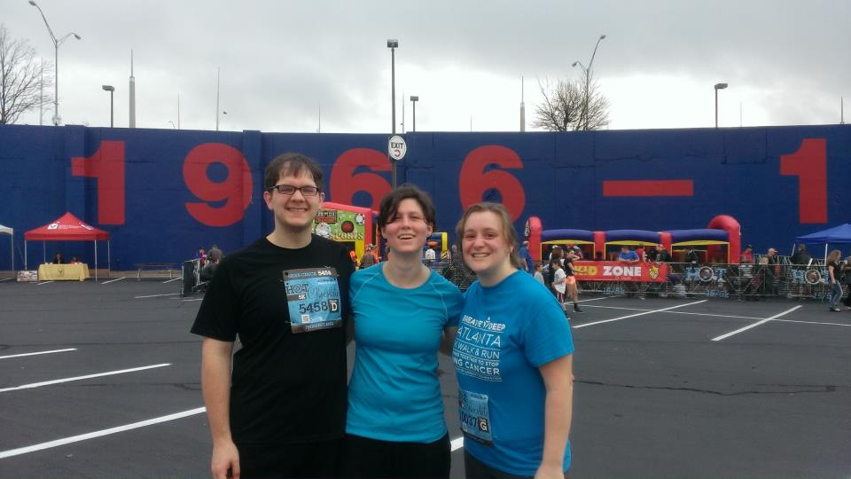After the race!