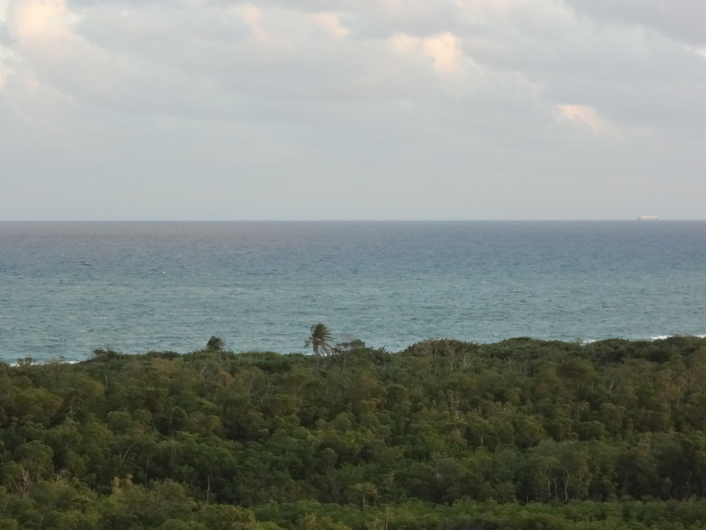 Fort Lauderdale view of the ocean
