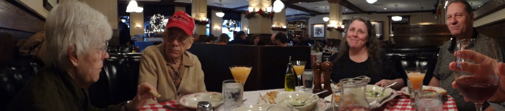 My birthday dinner at Maggiano's.