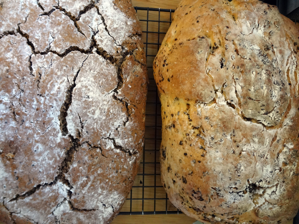 Two Spent Grain Loaves
