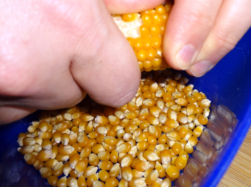 Stripping the kernels