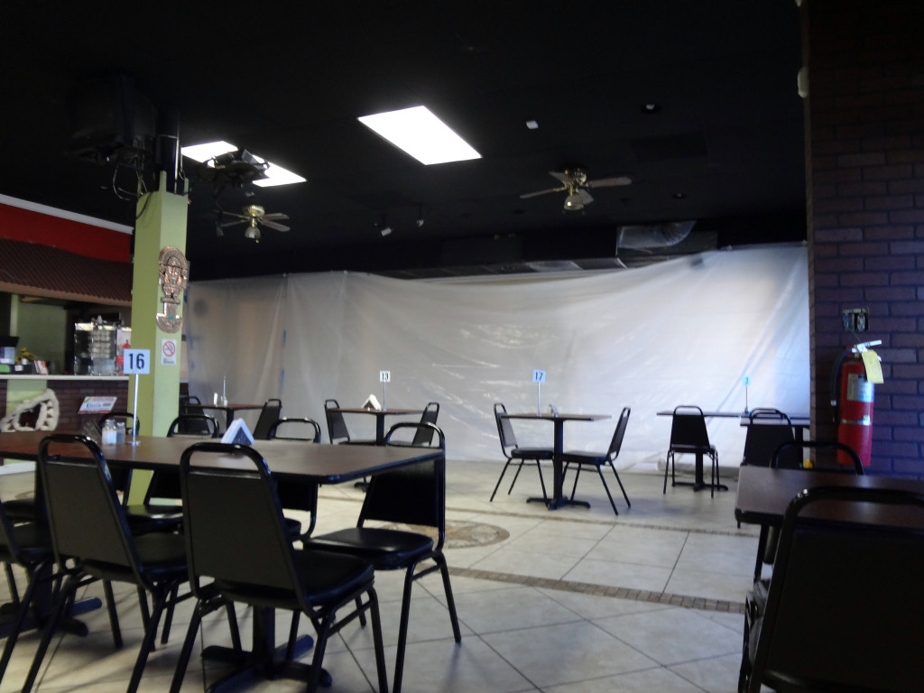 Pollo d'el Rey interior under construction