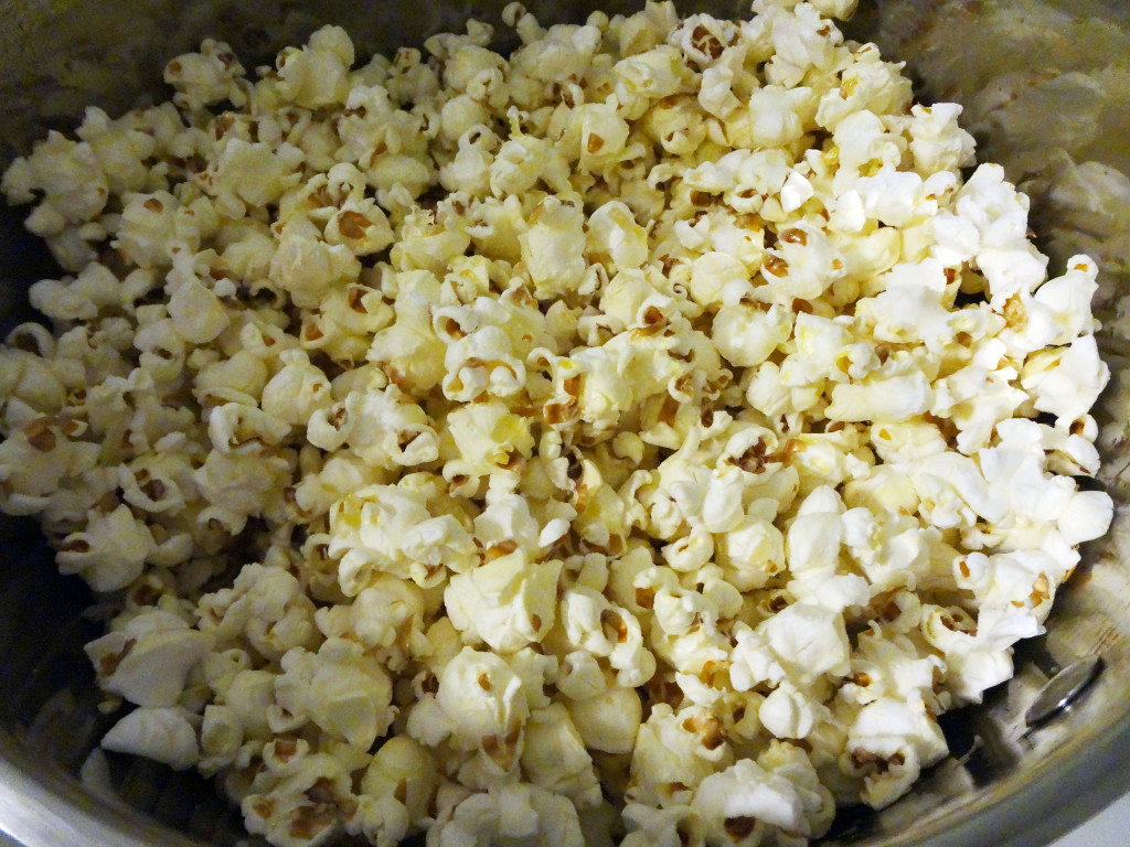 A second attempt at popcorn