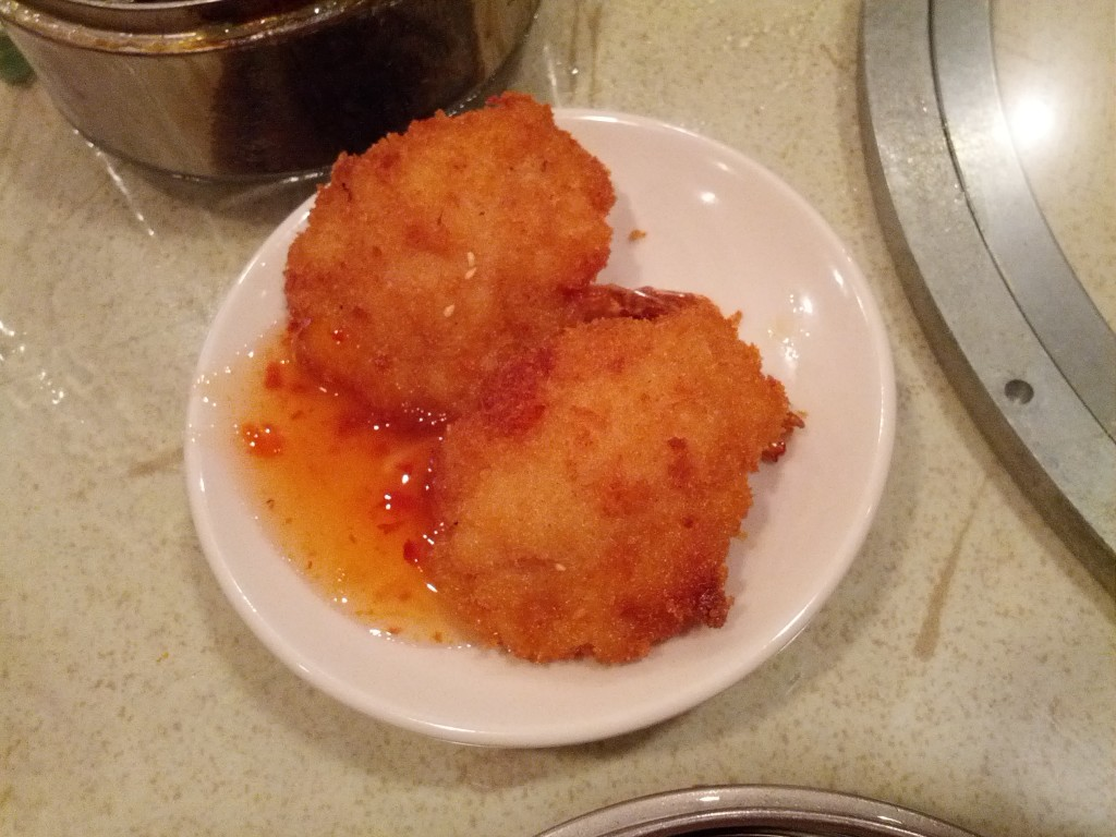 dim sum Fried stuffed shrimp
