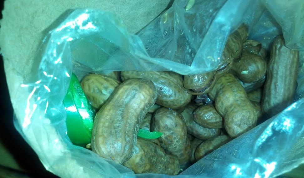 jalepeno boiled peanuts - bone lick BBQ