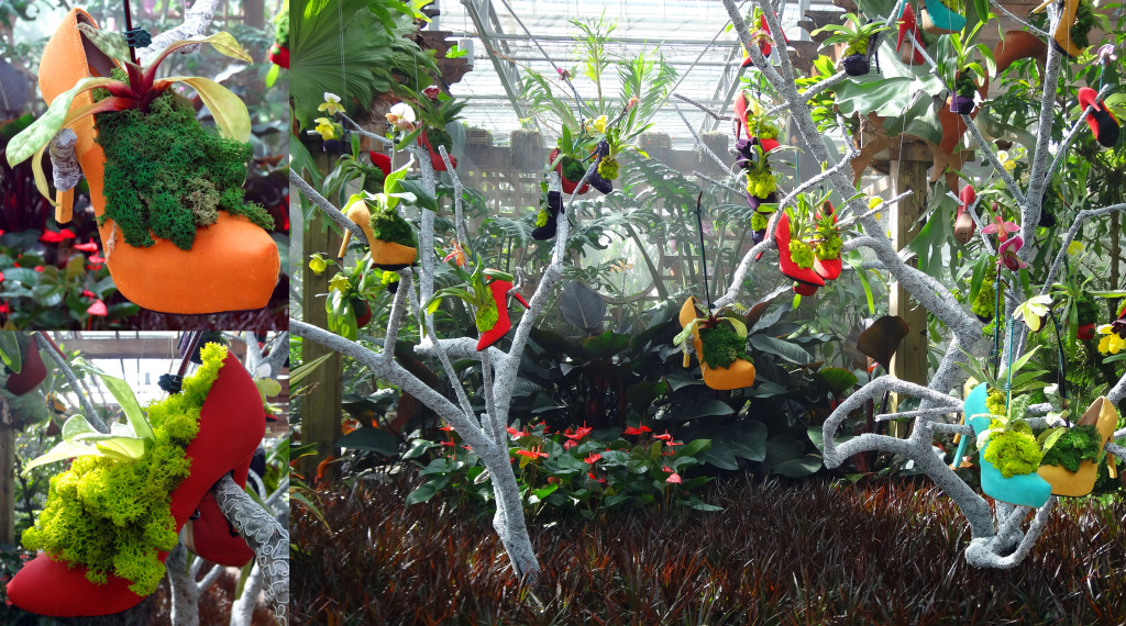 The Shoe Tree - the focal piece of the display house.
