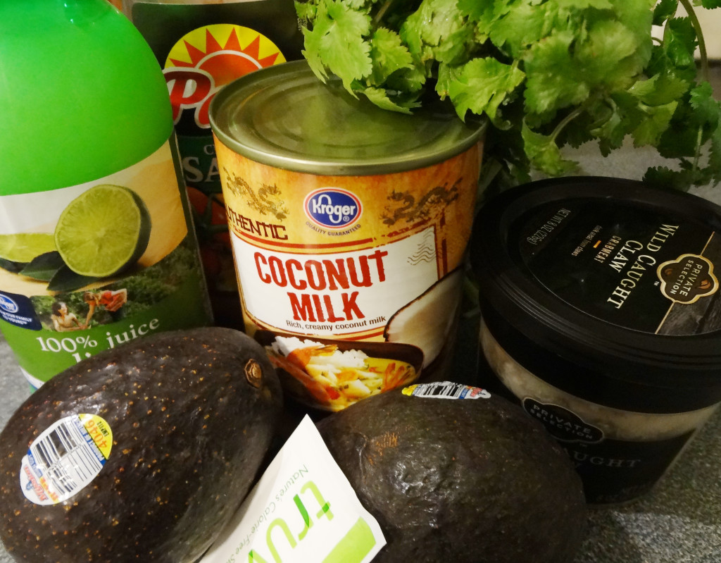 Avocado Crab Bacon Bowl Ingredients