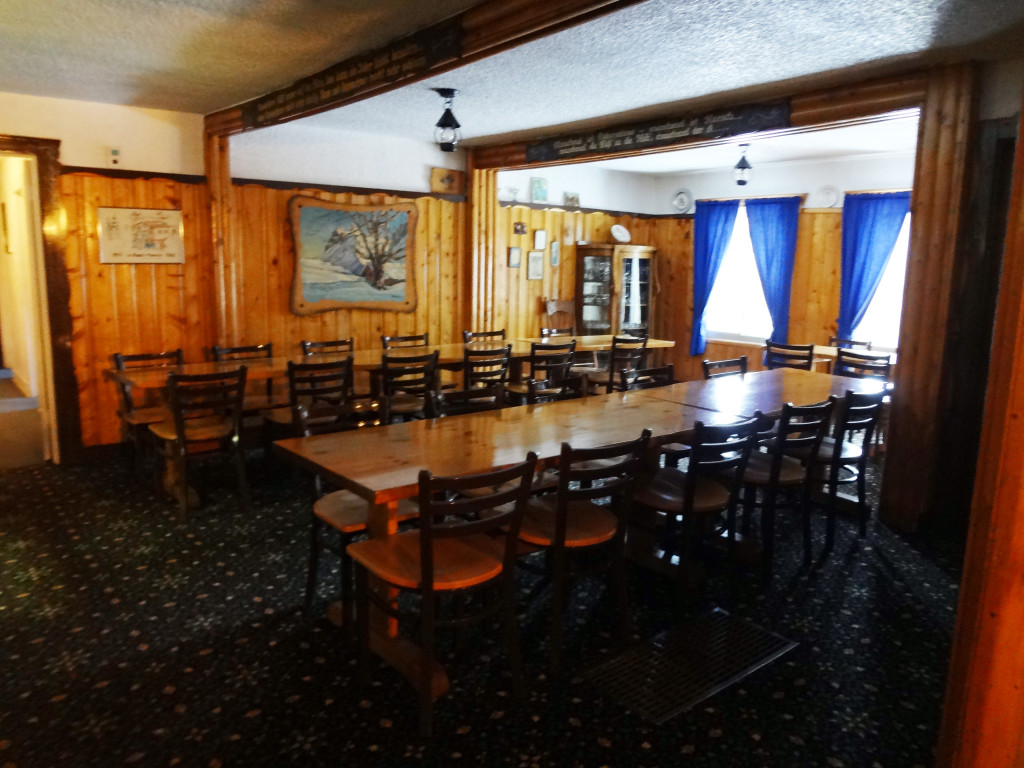 The other part of the dining area.