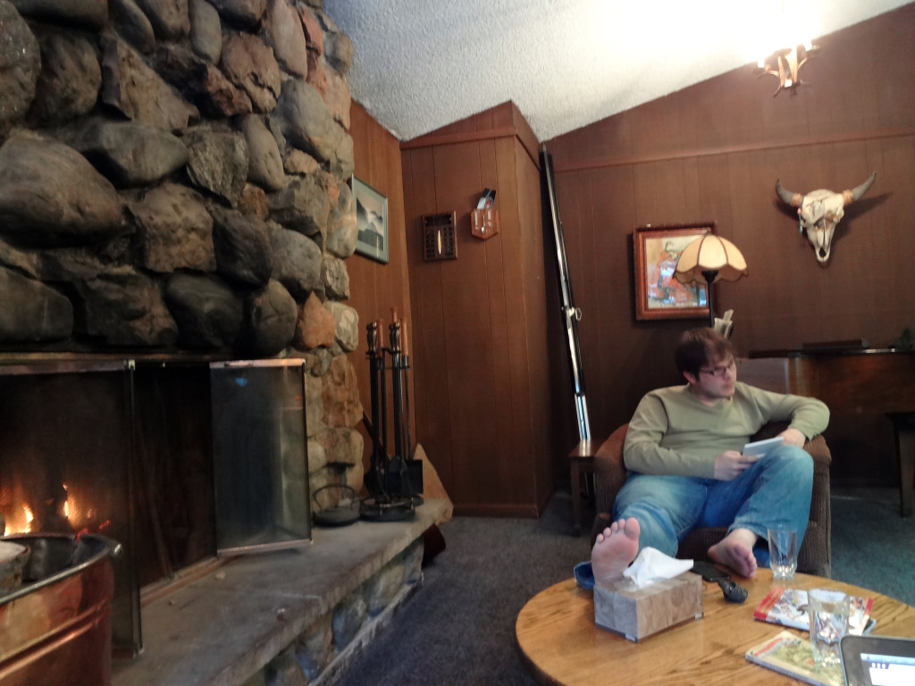 Main Room at Timberhouse