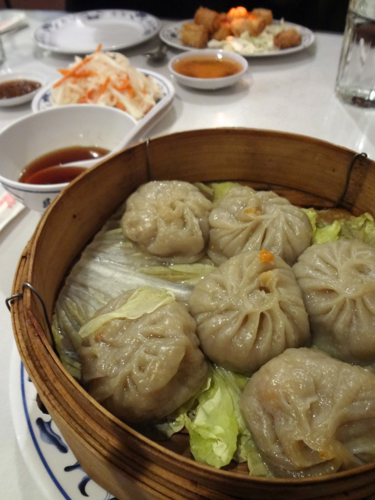 Vegetarian Shanghai dumplings.