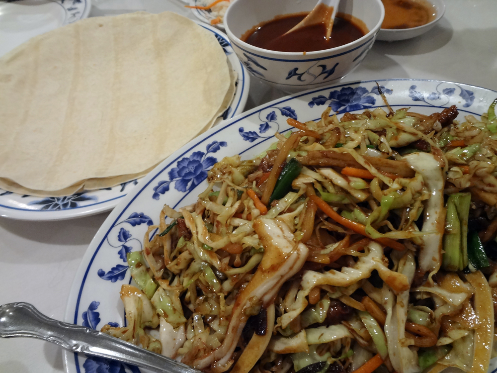 "Vegetarian Moo Shu ""Pork"""