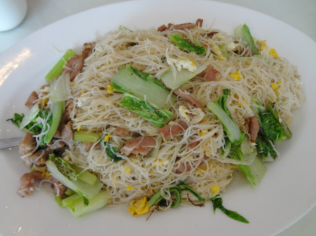 Shredded Pork with Stir-Fried Rice Noodles
