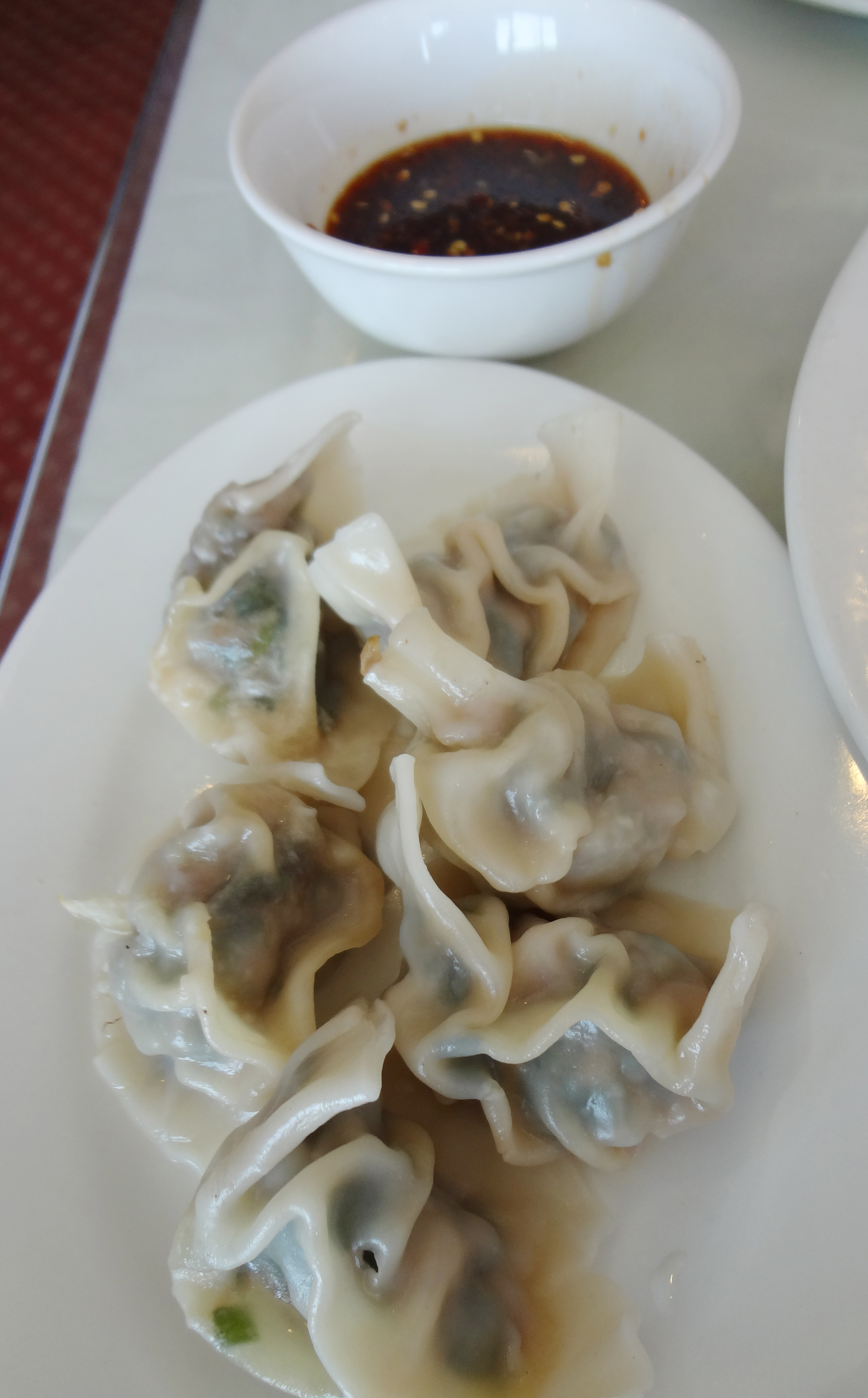 Dumplings at Coco's Chamblee