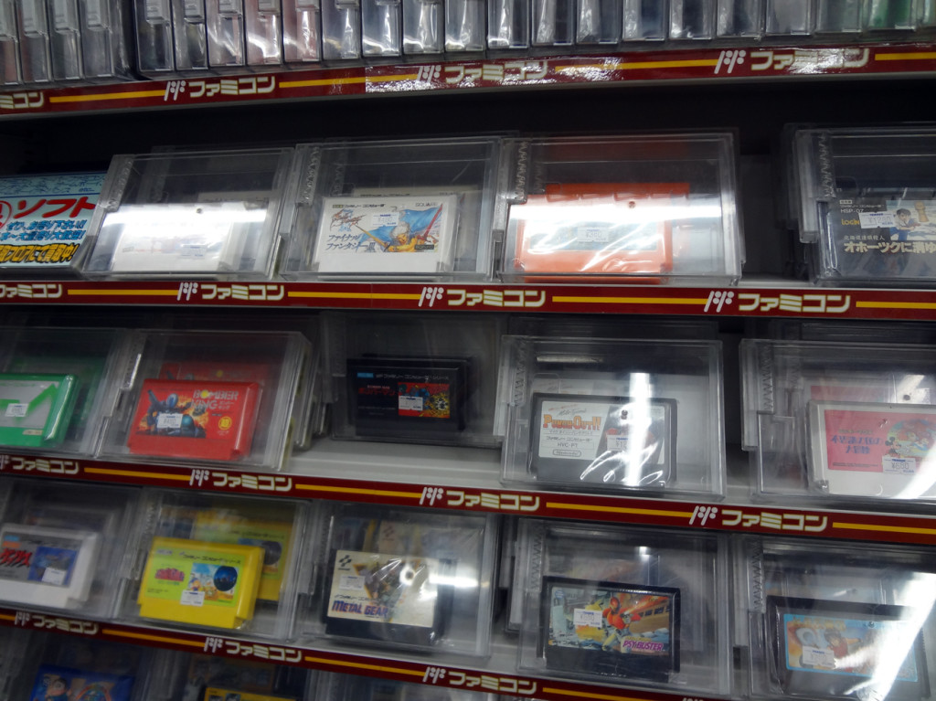 "Famicom games to go with your ""new"" Famicom"