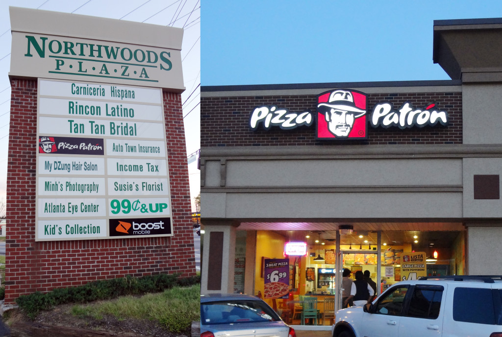 Pizza Patron Atlanta on Buford Highway