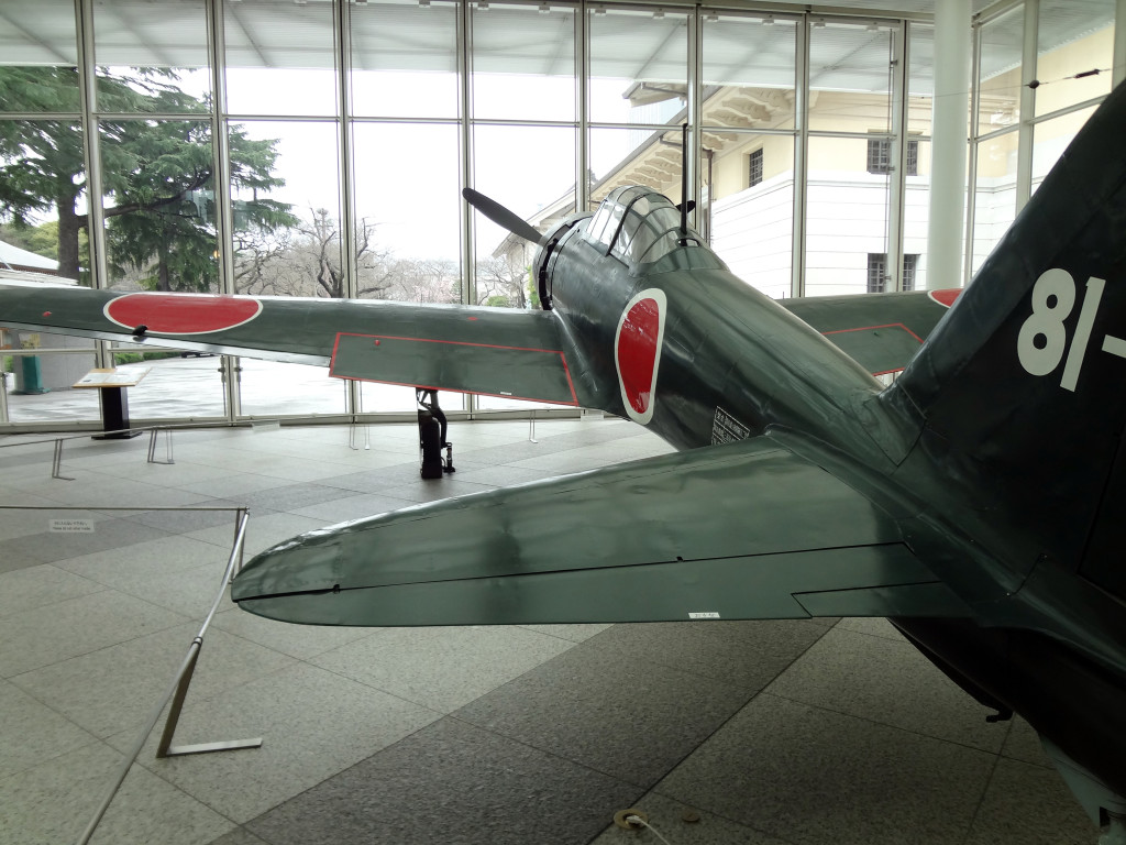 Kamikaze plane