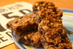 Peanut Butter Banana Chocolate Chip Oat Bars Recipe