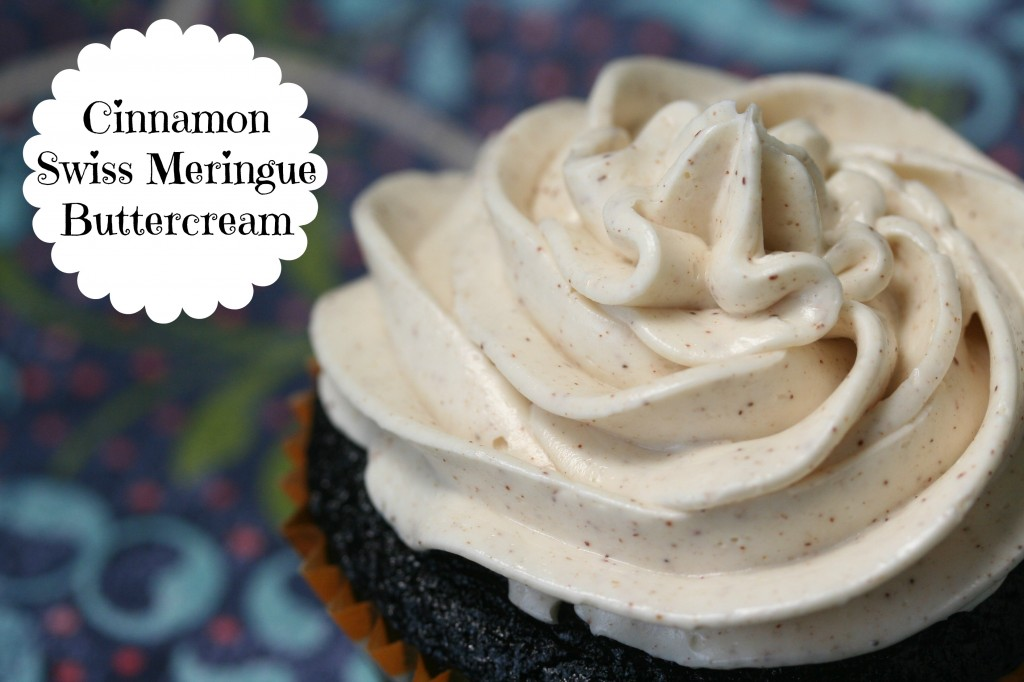 Cinnamon Swiss Meringue Buttercream