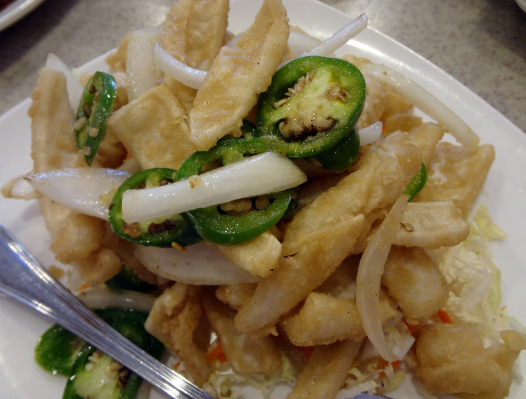 Salted pepper squid