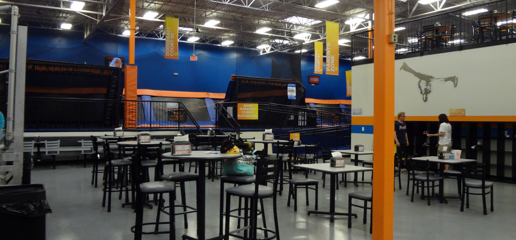 Sky Zone Roswell Interior