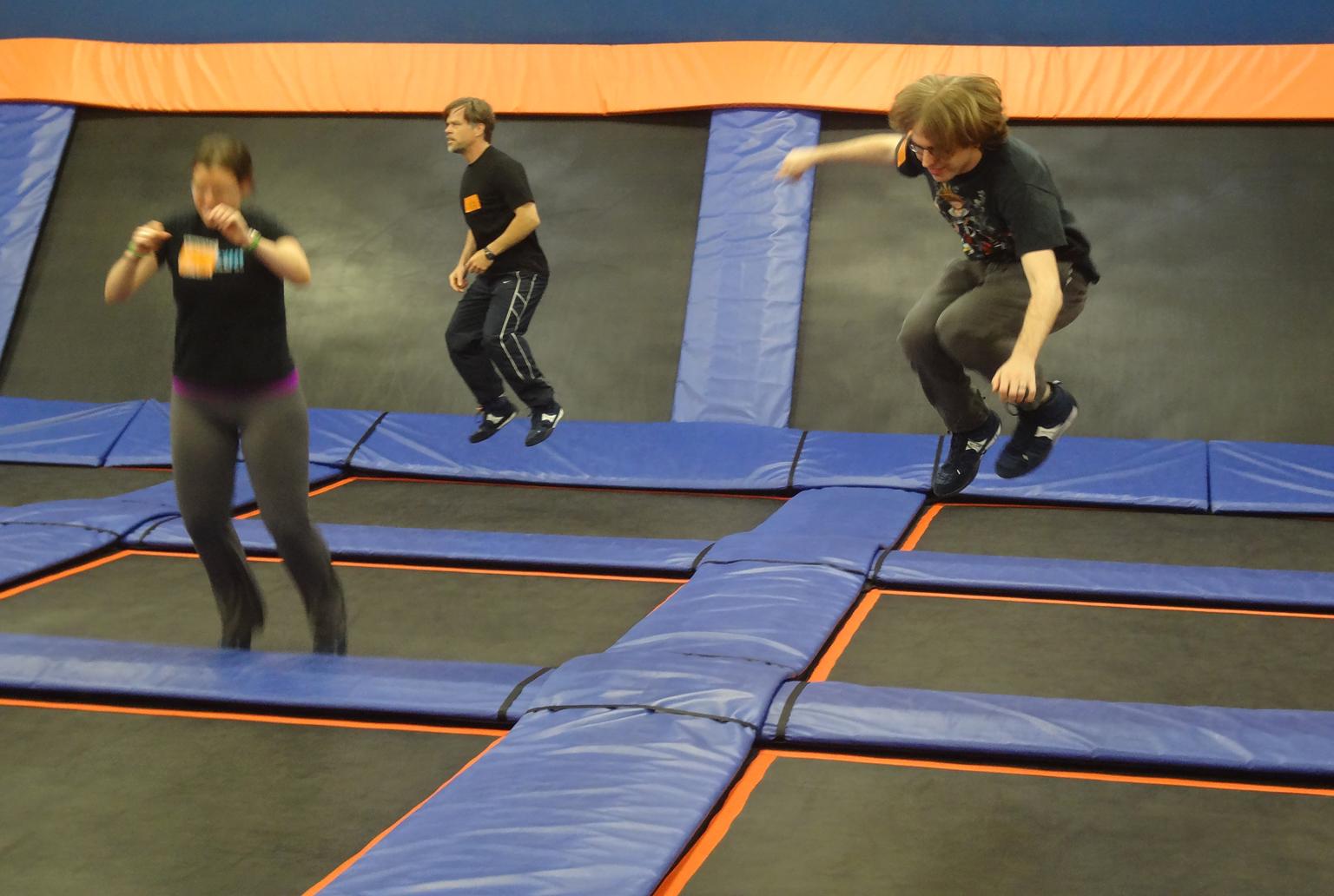 Free jump at Sky Zone