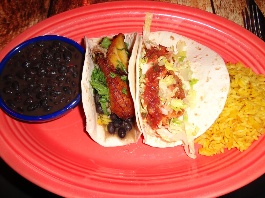 Twisted Taco 2-taco combo:  Down Home and The Cuban