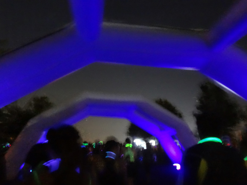 Glow arches