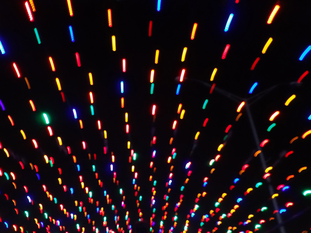 Another type of glow tunnel