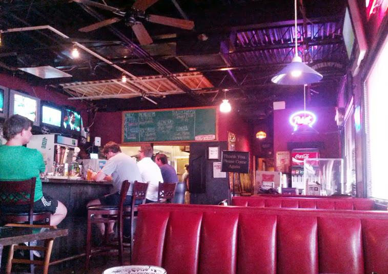 Westside Pizzeria Interior