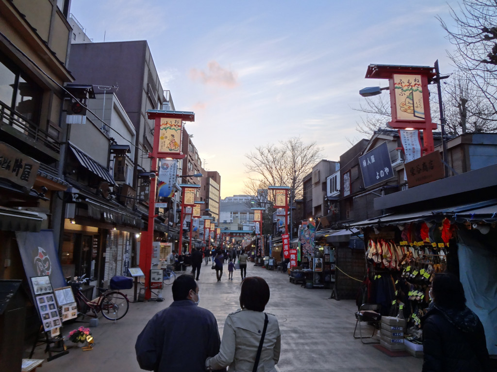Side streets near Sensoji Temple
