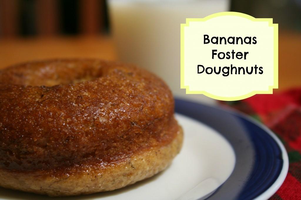 Bananas Foster Doughnuts