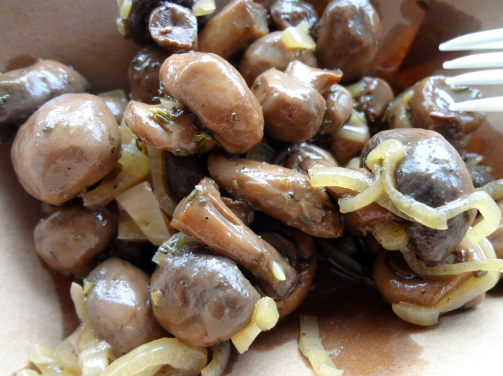 Side of marinated mushrooms