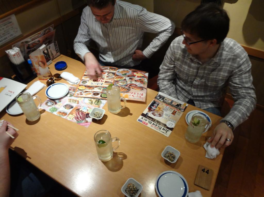 Tsubohachi interior 居酒屋