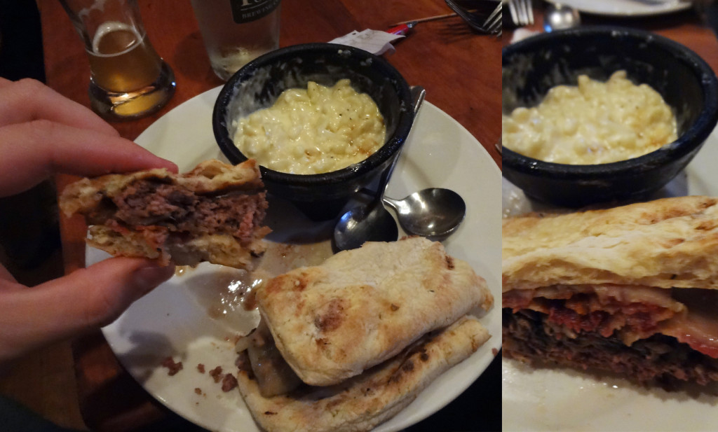 Antelope Patty Melt and Spätzle