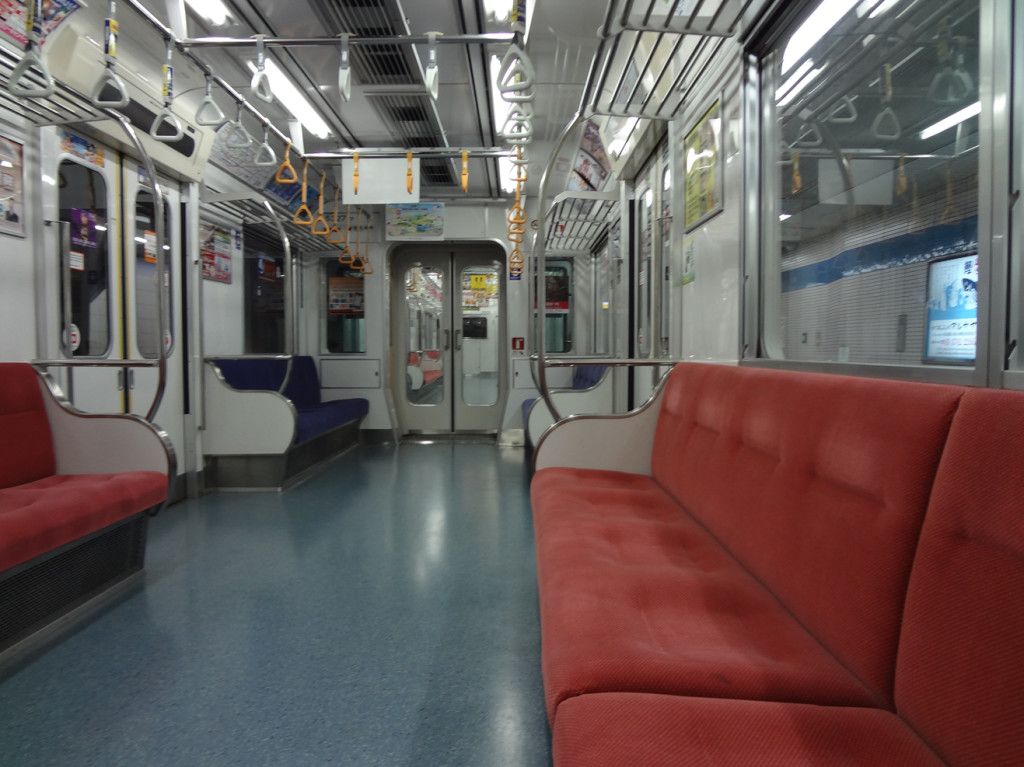 Tokyo Trains: Inside A Car