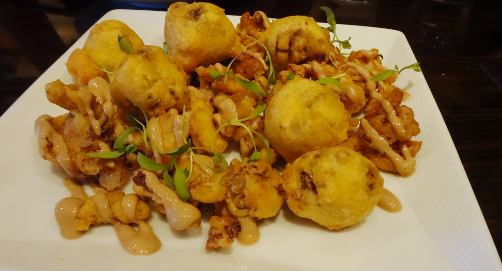 Mushroom Risotto Pakoras
