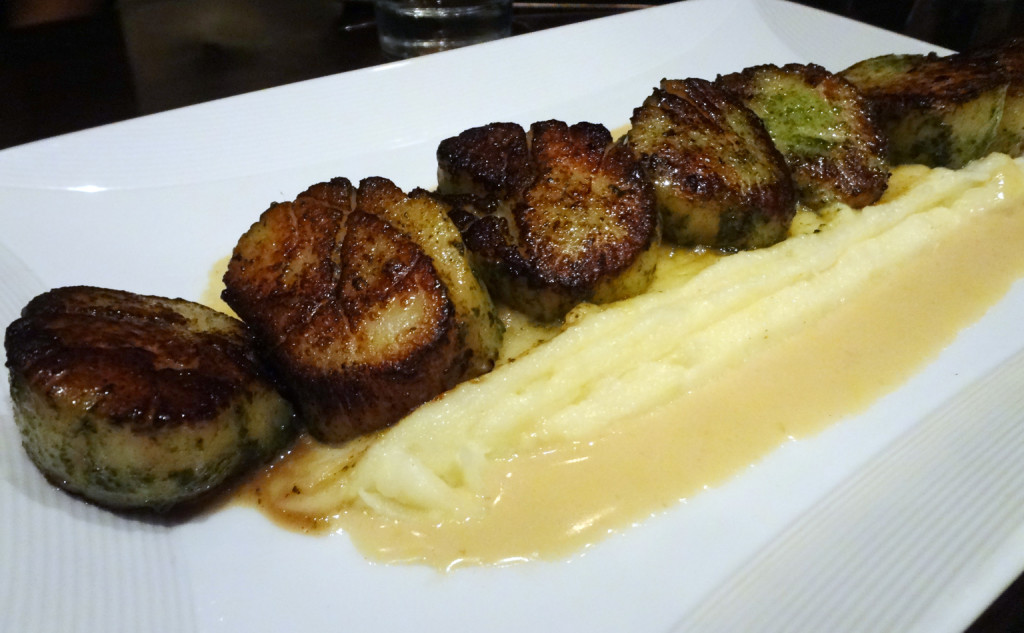 Basil Caramelized Sea Scallops