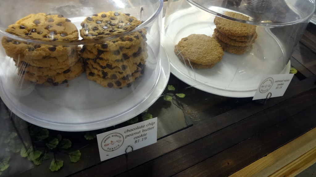 Cookies at Sweet Auburn Bakery