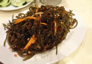 Chef Liu's seaweed salad