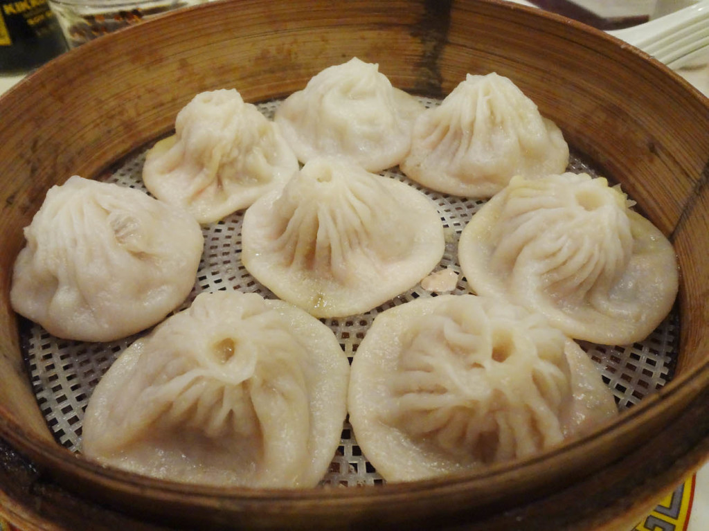 Juicy Shanghai dumplings - pork soup dumplings