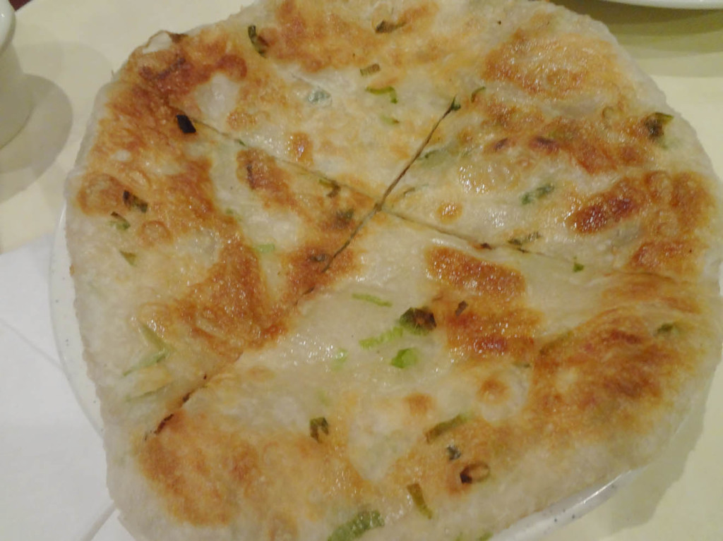 Onion cake from Chef Liu
