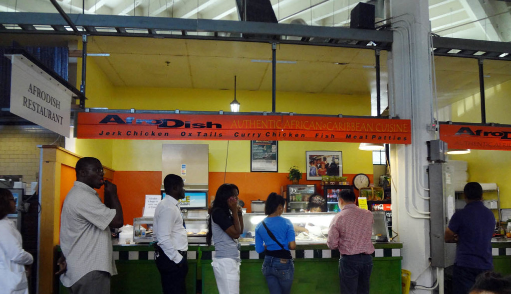 Afrodish Caribbean and West African Cuisine in the Sweet Auburn Curb Market