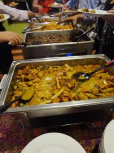 The Destination Malaysia banquet